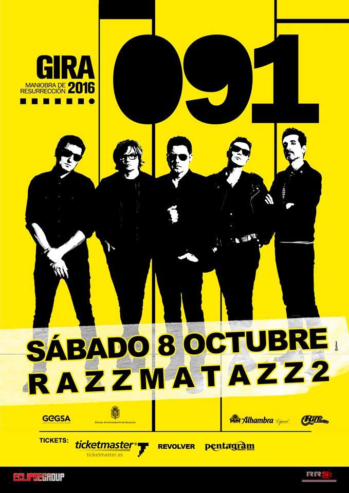 091 en barcelona for Sala 091 madrid